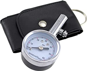 Bell 22-5-08720-M Mini Dial Tire Gauge with Bleeder