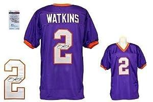 Sammy Watkins Autographed Jersey - Purple Witness - JSA Certified - Autographed... by Sports Memorabilia