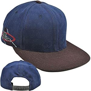 Buy No Fear Flat Bill Snapback Constructed Extreme Sports Vintage Skateboard Hat Cap by No Fear