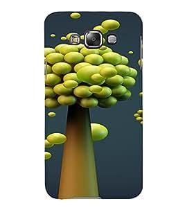 PrintVisa Modern Art Design 3D Hard Polycarbonate Designer Back Case Cover for Samsung Galaxy E7