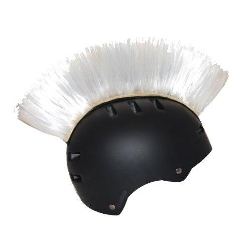 PC Racing Helmet Mohawk - White PCHMWHITE