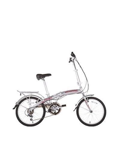 Schiano Cicli Bicicletta 20 06V.Shimano Alloy Argento
