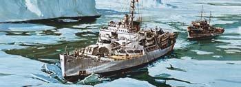 USS Burton Island 1-285 Revell Germany