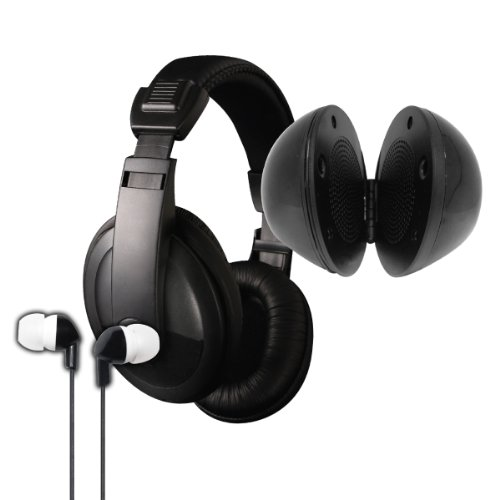 Vibe Sound Vs-771-Combo Ultimate Audio Combo Kit - Black