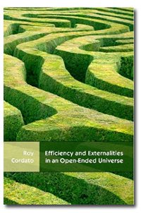 Efficiency and Externalities in an Open-Ended Universe