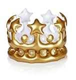 King For The Day Inflatable Crown - Birthday Gift for Boys
