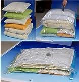 Mittelgroße Vakuumtasche zur Lagerung und Reise für Kleidung - 50x70cm - Packung a 4 Stück