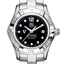 Vanderbilt University TAG Heuer Watch - WomenÕs Steel Aquaracer Watch