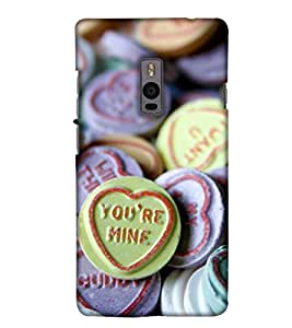 Print Haat Back Case for One Plus Two (Multi-Color)