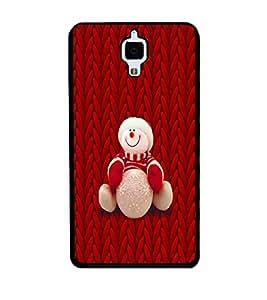 PRINTSWAG TEDDY RED Designer Back Cover Case for XIAOMI MI4