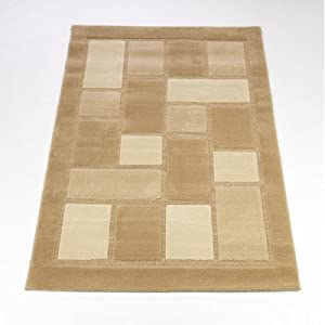 Rugs With Flair 160 x 230 cm Visiona Soft 4304, Beige by Rugs With Flair