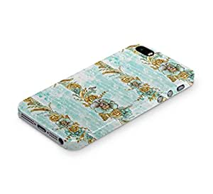 Cover Affair Floral / Flower Printed Back Cover Case for Apple iPhone 4S