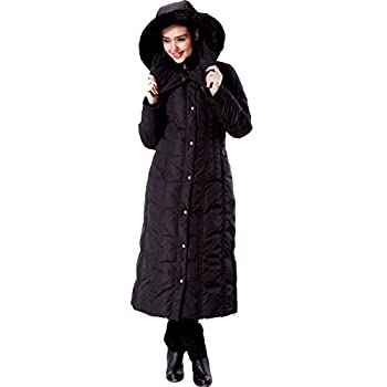 8d7f9c20a84 Phistic Women s  Lacey  Long Hooded Puffer Down Coat ...