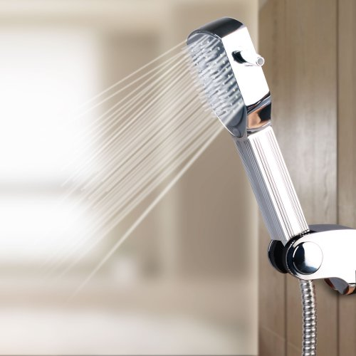 Vdomus® Contemporary Microphone Style Handheld Shower, Head Shower Rainfall Shower With Chrome Finish On Sale