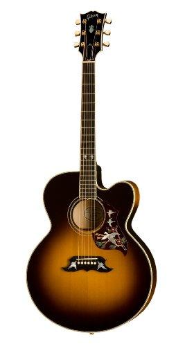 best buy gibson super dove acoustic electric guitar vintage sunburst if else endif. Black Bedroom Furniture Sets. Home Design Ideas