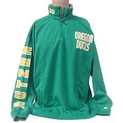 NCAA Oregon Ducks Quarter Zip Sweatshirt by Donegal Bay