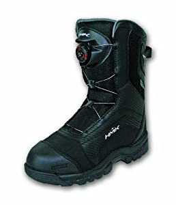 HMK Mens Voyager Boa Boots (Black, Size 12) by HMK