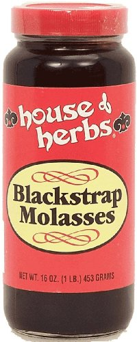 House of Herbs Blackstrap Molasses, 16-oz. Jar (Pack of 3)