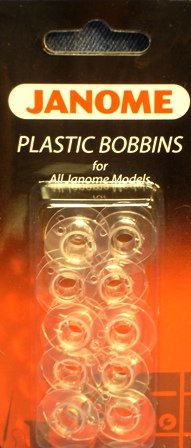 Janome Plastic Bobbins for All Janome Home Use Models (Thread Janome compare prices)