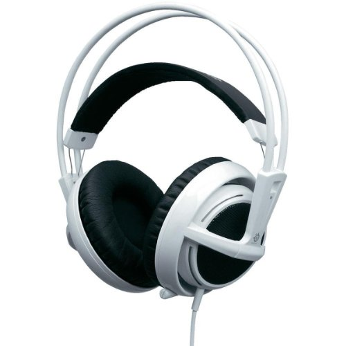 SteelSeries Siberia v2 USB Gaming Headset Weiss