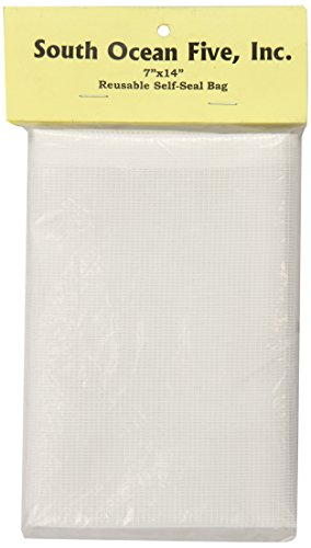 South Ocean Five Aof28210 Felt Filter Media Bag For Aquarium Filter, 7 By 14-Inch front-480585