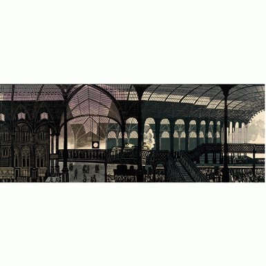 Liverpool Street Station' by Edward Bawden (Gicle Print)