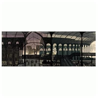 Liverpool Street Station' by Edward Bawden (Giclée Print)