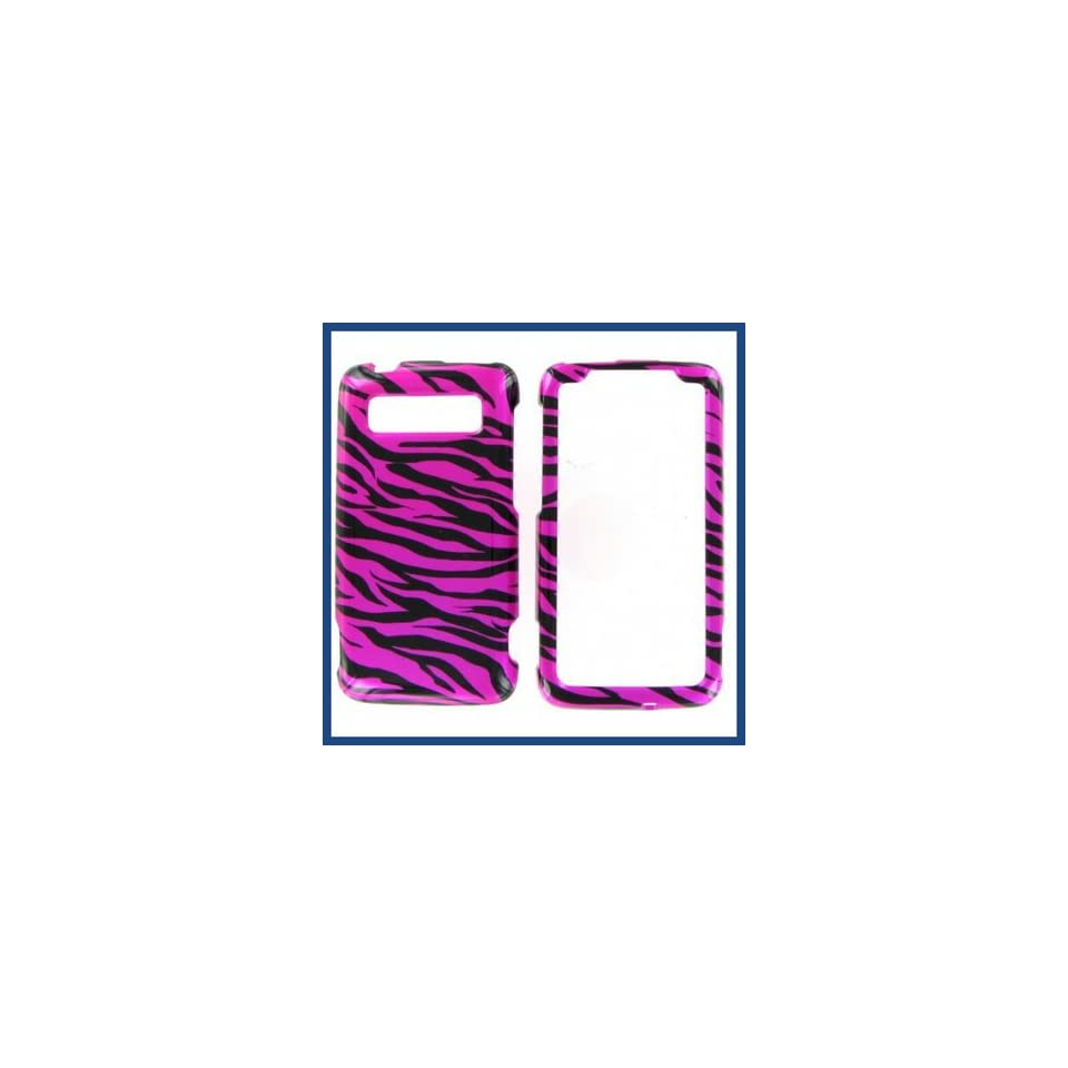 HTC Trophy Zebra Hot Pink Hot Pink/Black Protective Case