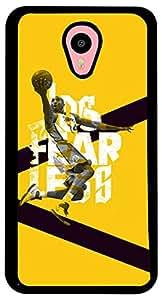 PrintVisa Sports Basketball Case Cover for Meizu M1 Note (2D-MM1N-D8102, Multicolour)