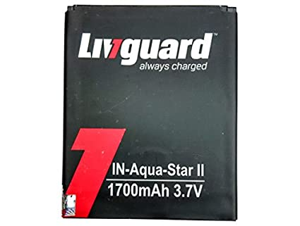 Livguard 1700mAh Battery (For Intex Aqua Star 2)
