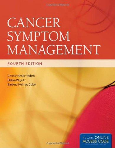 Book Alone: Cancer Symptom Management