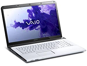 Sony VAIO SVE1712C1EW 43,9 cm (17,3 Zoll) Notebook (Intel Pentium B980, 2,4GHz, 4GB RAM, 500GB HDD, Intel HD, DVD, Win 8) weiß