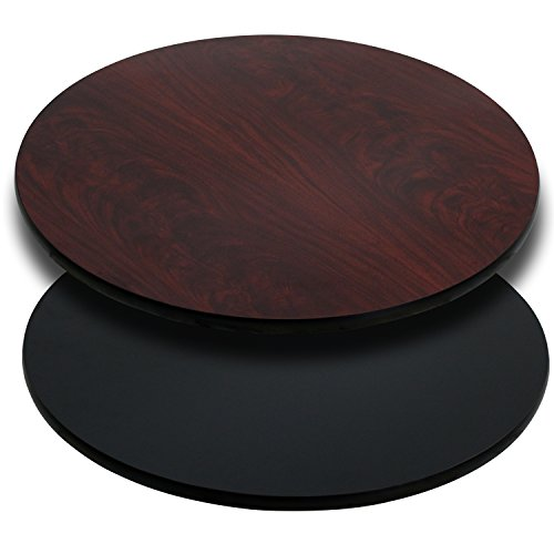 Round Table Top with Reversible Laminate Top (Top Only) 36