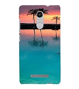 PrintVisa Travel Beach Sunset Design 3D Hard Polycarbonate Designer Back Case Cover for Xiaomi Redmi Note 3