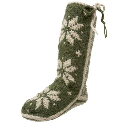 Image of Woolrich Women's Chalet Knit Slipper Sock (B002AJ8G4G)
