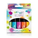 Rainbow Nail Art Set