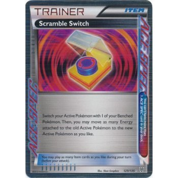 Scramble Switch Ace Spec Plasma Storm 129/135 Pokemon Card Rare