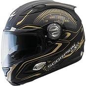 Amazon.com: Scorpion EXO-1000 RPM Helmet - Small/Matte Black/Gold: Automotive