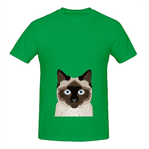 ezra-siamese-cat-cute-kitten-retro-cat-art-mens-crew-neck-custom-tee-x-large