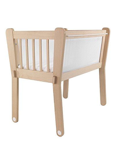 Albero Bambino cul12016bi–Minicuna di legno naturale