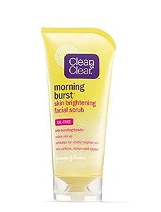 Clean & Clear Morning Burst Skin Brightening Facial Scrub, 5 Ounce