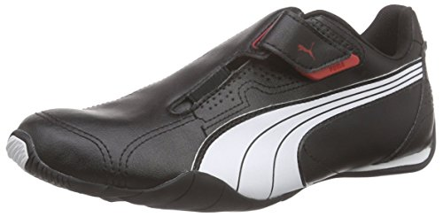 Puma Redon Move, Unisex-Erwachsene Sneakers, Schwarz (black-white-high risk red 02), 42 EU (8 Erwachsene UK) thumbnail