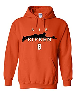 "Cal Ripken Jr Baltimore Orioles ""Air Ripken"" Hooded Sweatshirt"