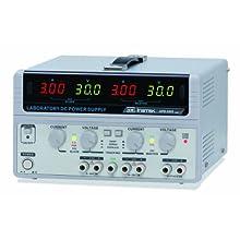 Instek GPS-3303 195W Triple-Output Linear DC Power Supply, 30V, 3 Amp