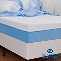 "Hot Sale Night Therapy Elite 10"" MyGel® Premium Memory Foam Mattress - Queen"