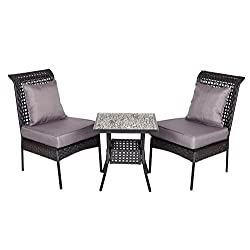 Havasu All Weather Wicker 3pc. Bistro Set