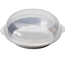 Nordic Ware Naturals Hi-Dome Pie Pan with Lid, 2-Pieces, 25cm