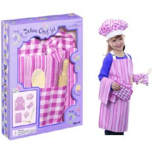 Deluxe Chef Set: Apron, Chef Hat, Utensils, Hot Pad from Toysmith