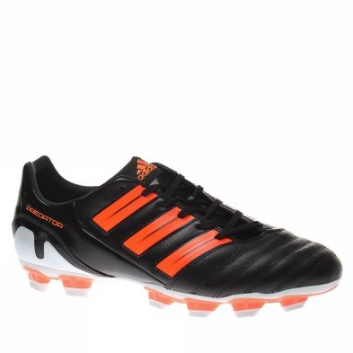 Predator Absolado TRX FG Football Boots Black/Warning Orange - size 12
