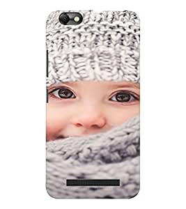 EPICCASE Cutie girl Mobile Back Case Cover For Lenovo A2020 (Designer Case)